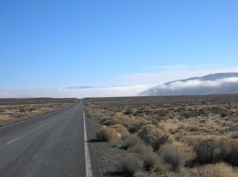 Road into Northern Nevada Desert