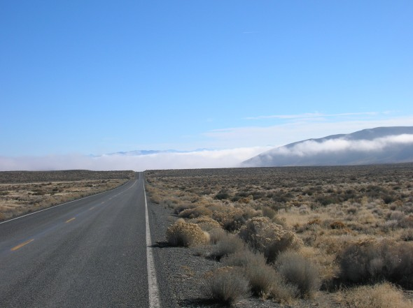 Road into Northern Nevada Desert