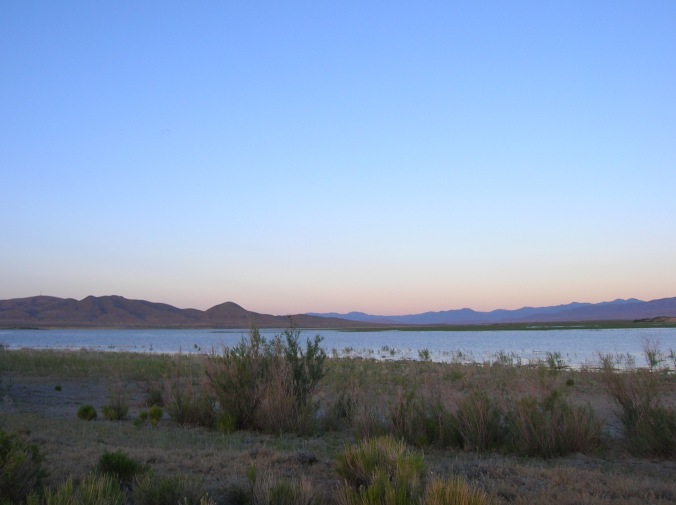 Nevada High Desert Rye Patch Reservoir