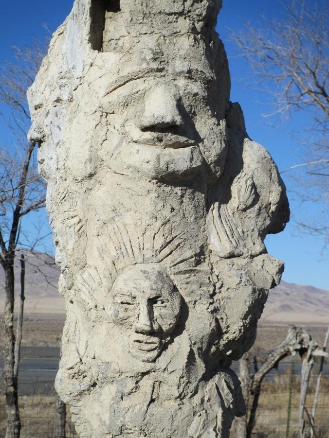 Thunder Mountain Monument, Nevada Desert