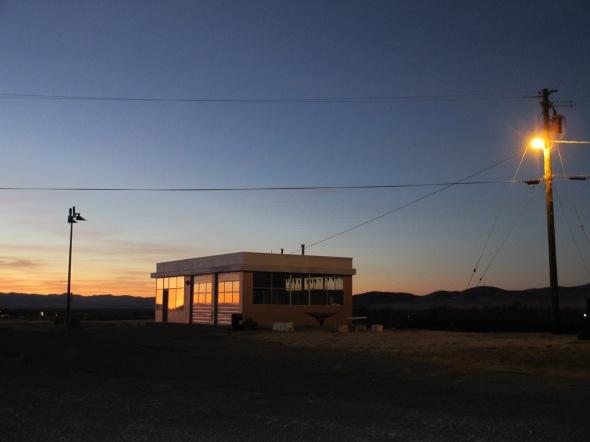 Twilight in the Nevada High Desert
