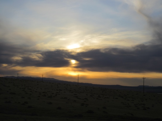 Sunset, Nevada high desert