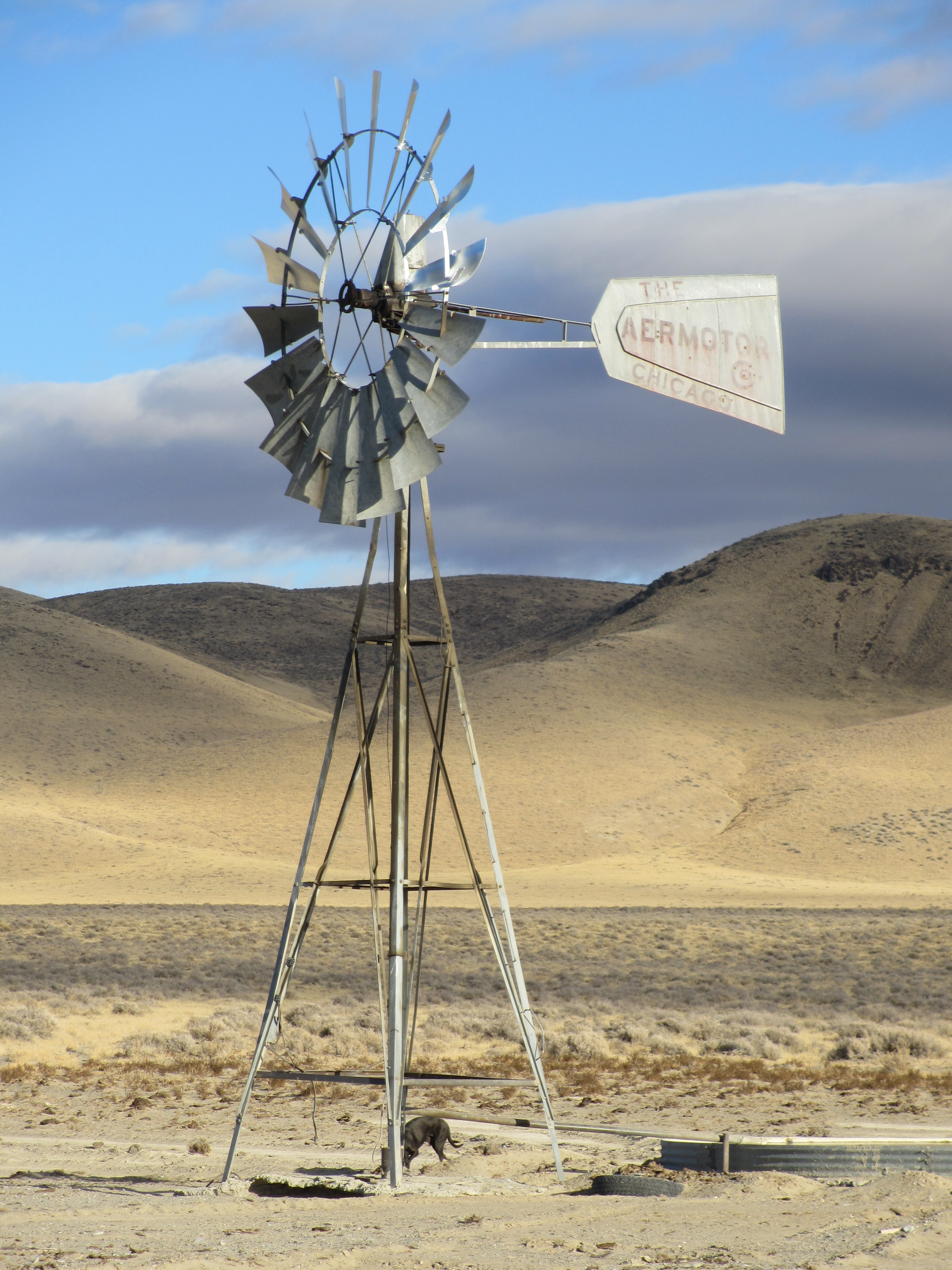 Windmill in the Desert, Northern Nevada