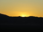 Sunset on Humboldt Range, Pershing County, Nevada Desert