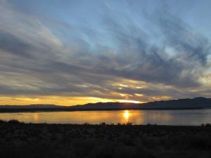 Rye Patch Reservoir, Nevada Desert