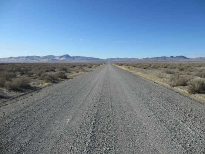 Nevada Desert Road