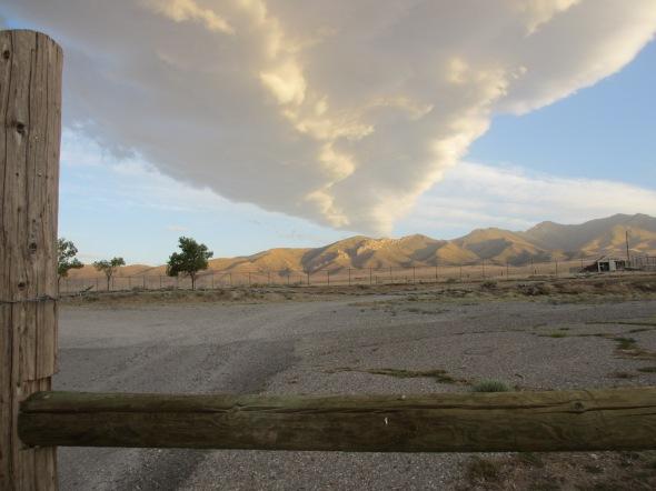 Sunset in the Nevada Desert