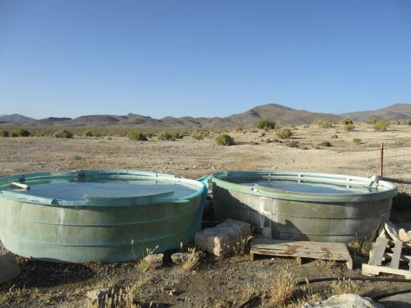 Kyle's Hot Springs near Unionville, Nevada
