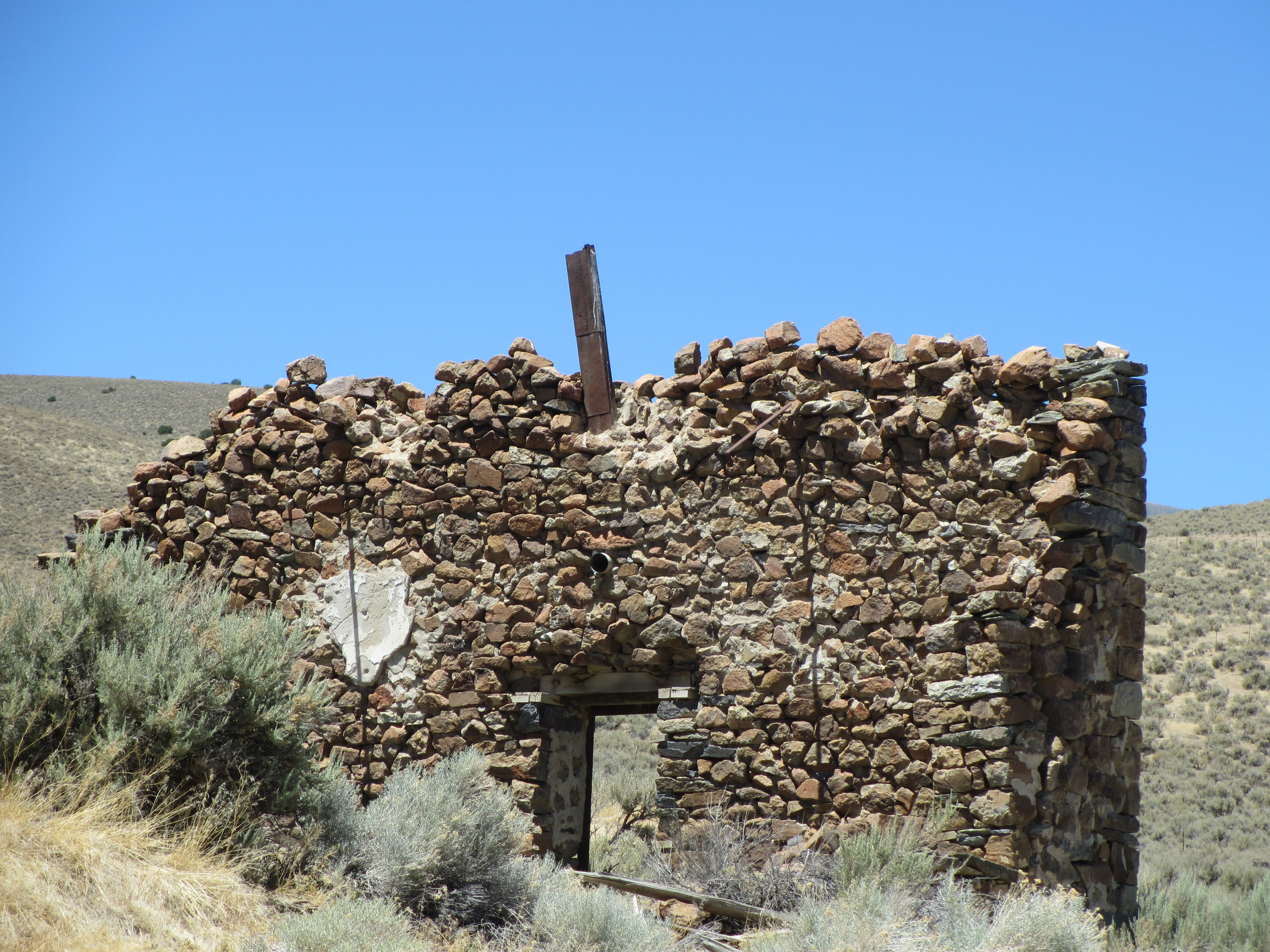 Abandoned Building in the Nevada Desert