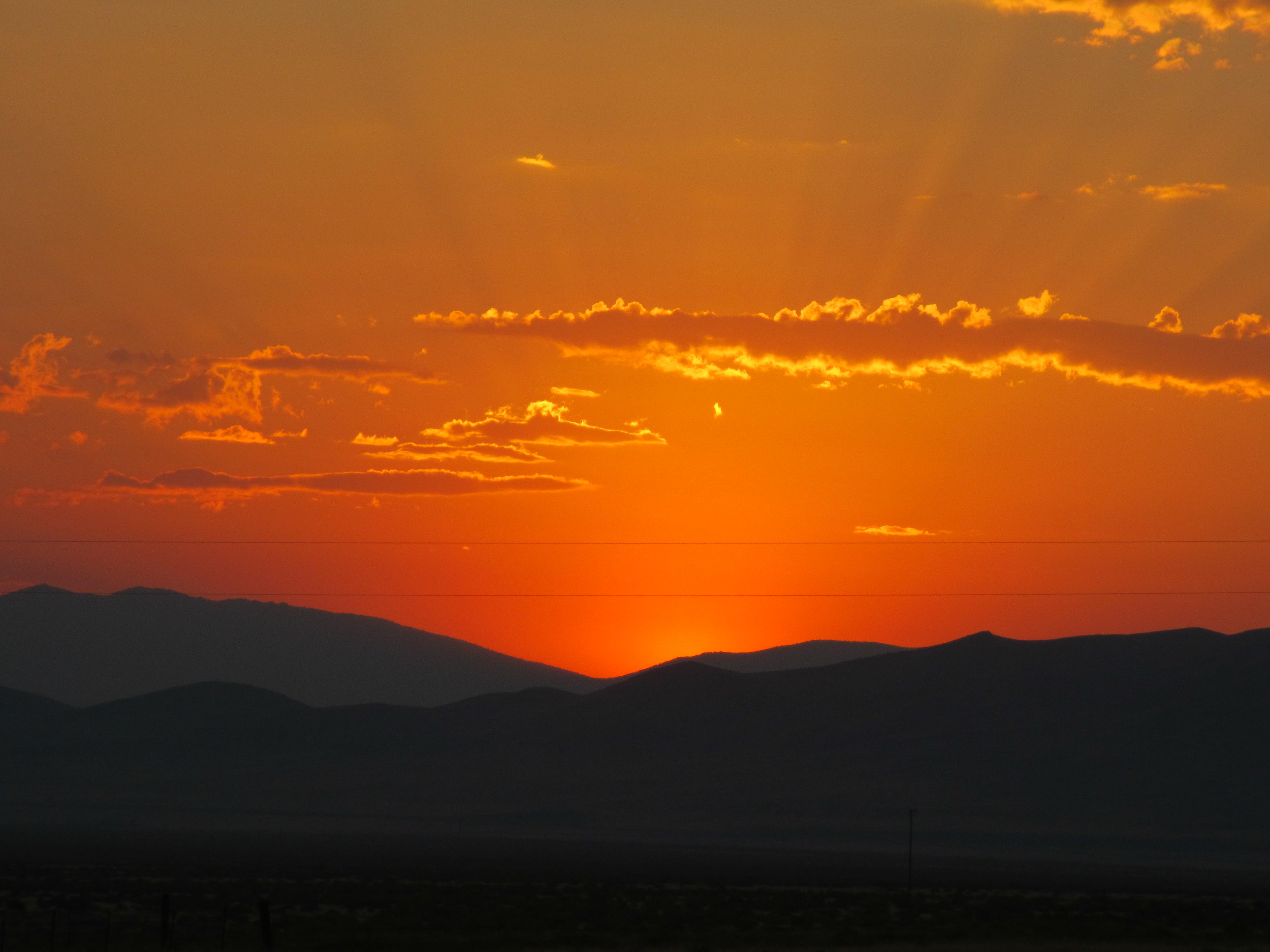 Desert Sunrise Where God Takes Me