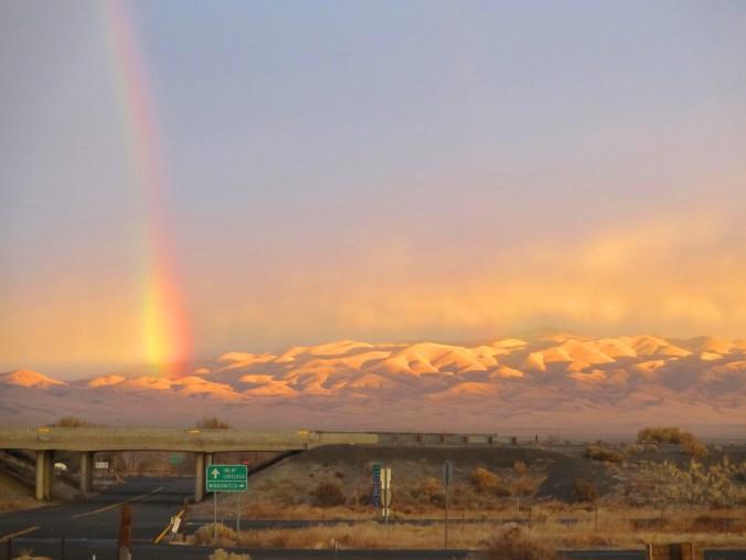 Nevada High Desert, Eugene Mountains, Sunrise