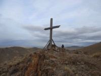 Cross in the Majuba Mountains