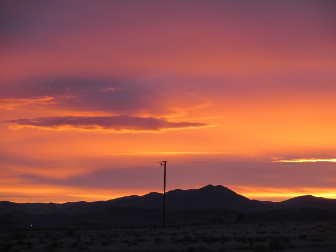 Nevada Desert Sunrise