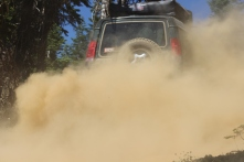 Land Rover, Sierra Buttes, Tahoe National Forest